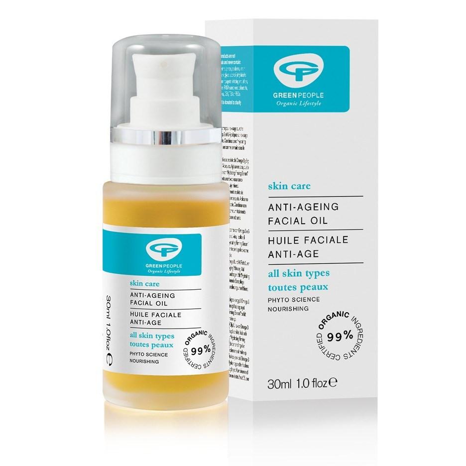 Green People Anti-Ageing Facial Oil (30 ml)