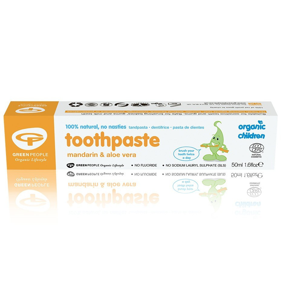 Green People Childrens Mandarin Toothpaste (50 ml)