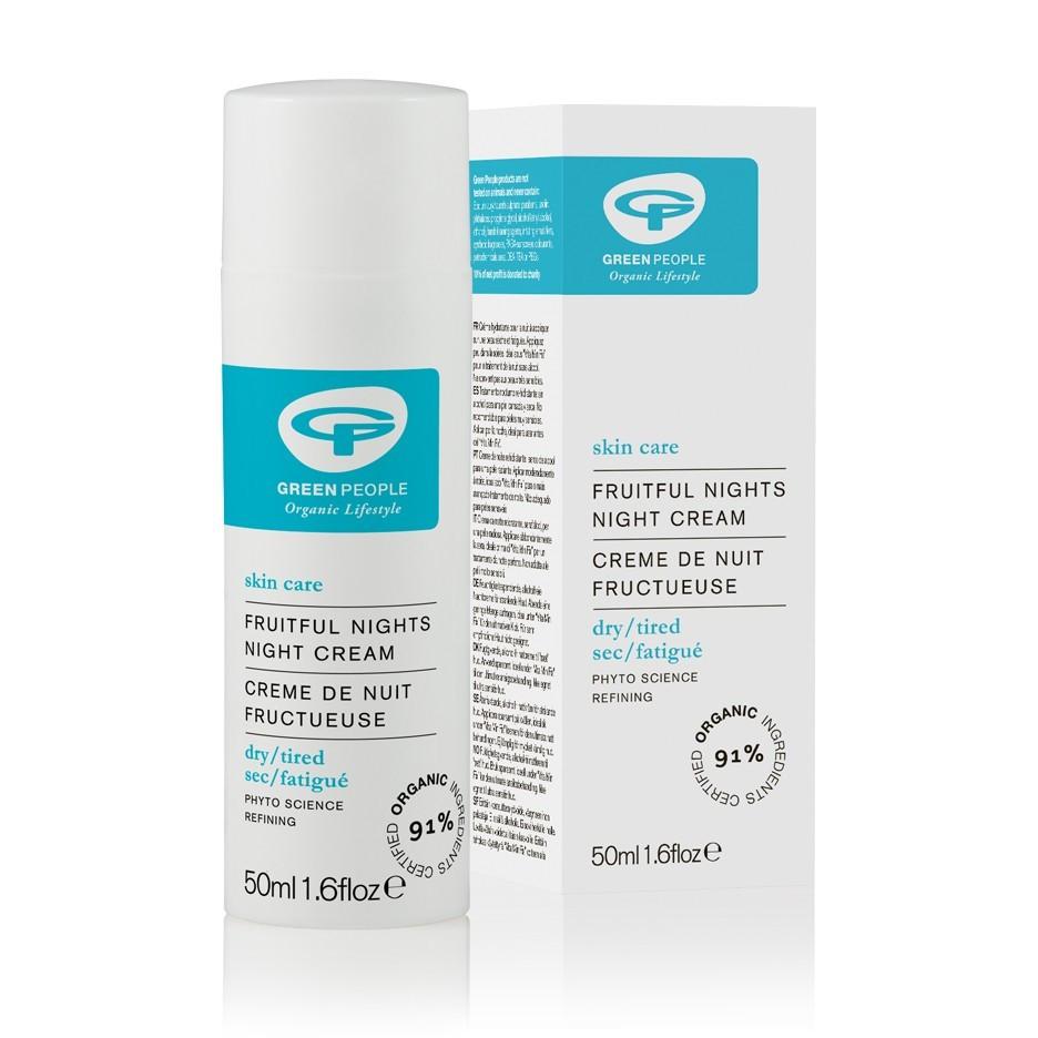Green People Fruitful Nights - Night Cream (anti-ageing) (50 ml)