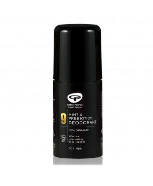 Green People Men's Care No. 9 Mint & Prebiotics Deodorant (75 ml)