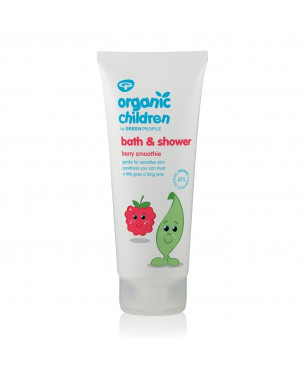 Green People Organic Children Bath & Shower - Berry Smoothie (200 ml)