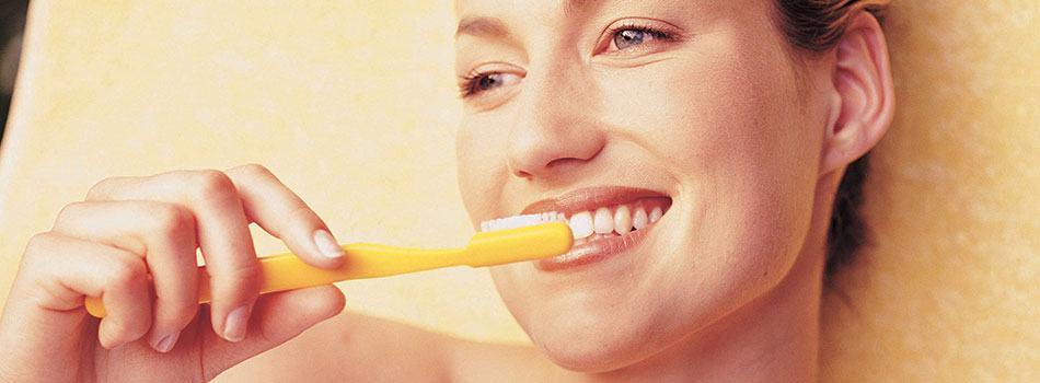 Vård av läppar och tandkött